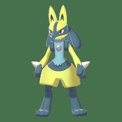 Pokemon Sword and Shield Shiny Lucario