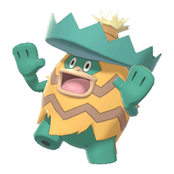 Pokemon Sword and Shield Shiny Ludicolo