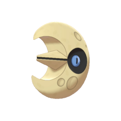 Pokemon Sword and Shield Shiny Lunatone