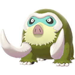 Pokemon Sword and Shield Shiny Mamoswine