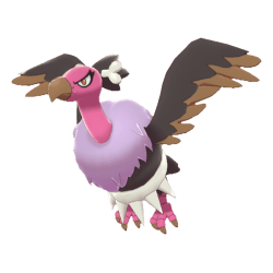 Pokemon Sword and Shield Shiny Mandibuzz
