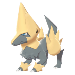 Pokemon Sword and Shield Shiny Manectric