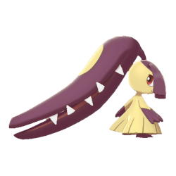 Pokemon Sword and Shield Shiny Mawile
