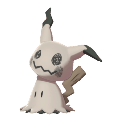 Pokemon Sword and Shield Shiny Mimikyu