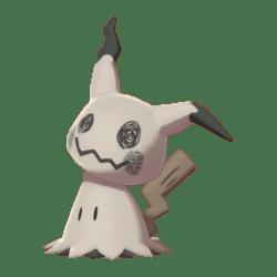 Pokemon Sword and Shield Shiny Mimikyu