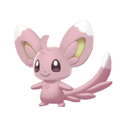 Pokemon Sword and Shield Shiny Minccino