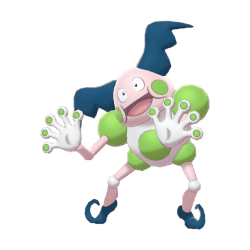 Pokemon Sword and Shield Shiny Mr. Mime