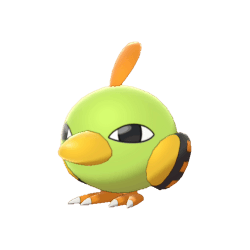 Pokemon Sword and Shield Shiny Natu