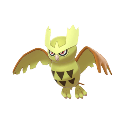 Pokemon Sword and Shield Shiny Noctowl