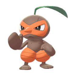 Pokemon Sword and Shield Shiny Nuzleaf