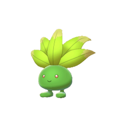 Pokemon Sword and Shield Shiny Oddish