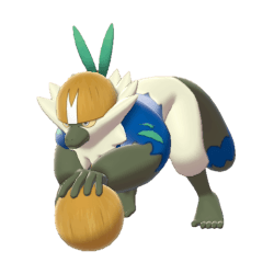 Pokemon Sword and Shield Shiny Passimian
