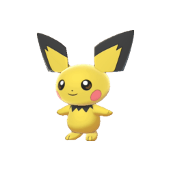 Pokemon Sword and Shield Shiny Pichu