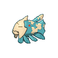 Pokemon Sword and Shield Shiny Relicanth