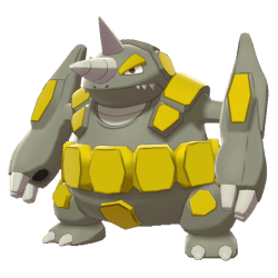 Pokemon Sword and Shield Shiny Rhyperior