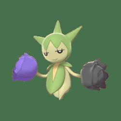 Pokemon Sword and Shield Shiny Roselia