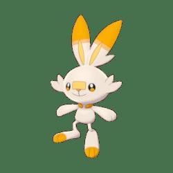 Pokemon Sword and Shield Shiny Scorbunny