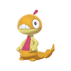 Pokemon Sword and Shield Shiny Scraggy