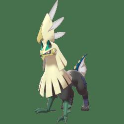 Pokemon Sword and Shield Shiny Silvally
