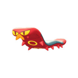 Pokemon Sword and Shield Shiny Sizzlipede