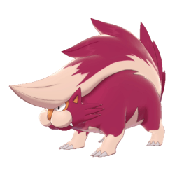 Pokemon Sword and Shield Shiny Skuntank