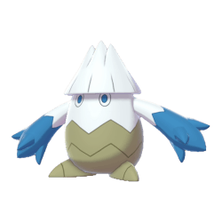 Pokemon Sword and Shield Shiny Snover