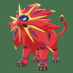 Pokemon Sword and Shield Shiny Solgaleo
