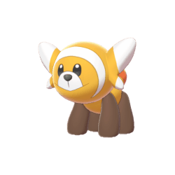 Pokemon Sword and Shield Shiny Stufful