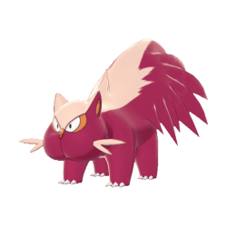 Pokemon Sword and Shield Shiny Stunky