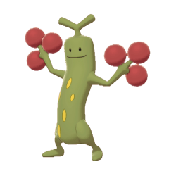 Pokemon Sword and Shield Shiny Sudowoodo