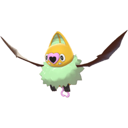 Pokemon Sword and Shield Shiny Swoobat