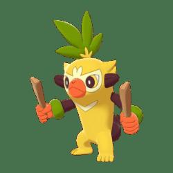 Pokemon Sword and Shield Shiny Thwackey