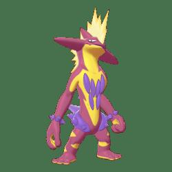 Pokemon Sword and Shield Shiny Toxtricity