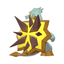 Pokemon Sword and Shield Shiny Turtonator