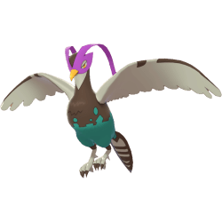 Pokemon Sword and Shield Shiny Unfezant