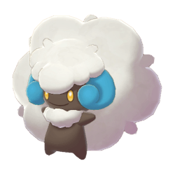 Pokemon Sword and Shield Shiny Whimsicott
