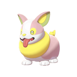 Pokemon Sword and Shield Shiny Yamper