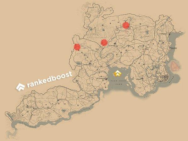 RDR2 Appaloosa Horse Locations