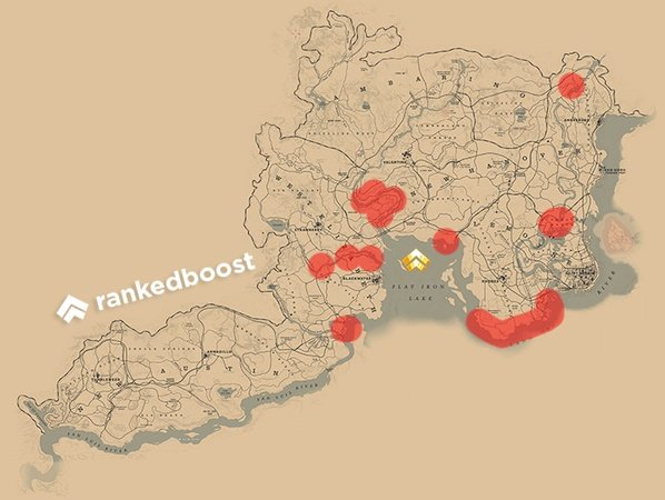 RDR2 Cormorant Locations