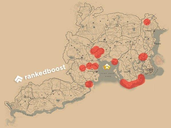 RDR2 Cormorant Locations