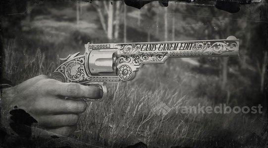 Red Dead Redemption 2 Calloway's Revolver