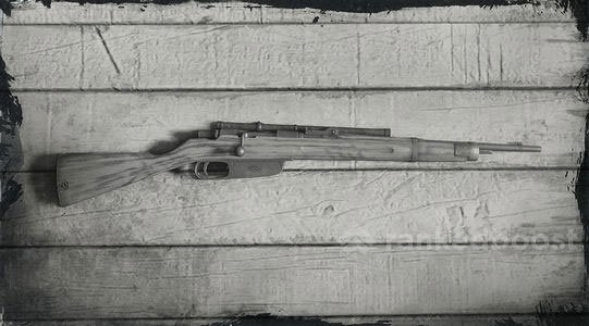 Red Dead Redemption 2 Carcano Rifle