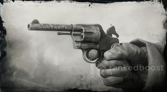 Red Dead Redemption 2 Micah's Revolver Stats | How To Get