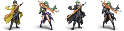 SSBU Byleth Alternative Costume 2