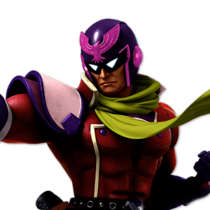 SSBU Captain Falcon Alternative Costume 3