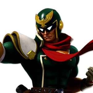 SSBU Captain Falcon Alternative Costume 4