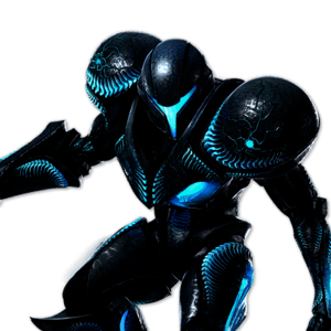 SSBU Dark Samus Alternative Costume 1