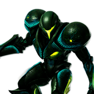 SSBU Dark Samus Alternative Costume 2