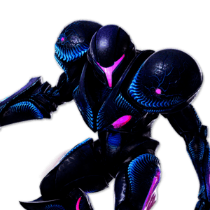 SSBU Dark Samus Alternative Costume 3