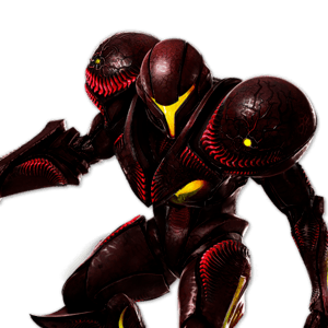 SSBU Dark Samus Alternative Costume 4